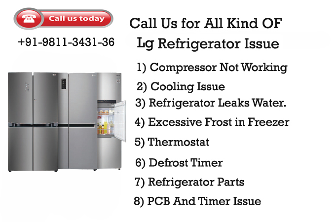 LG refrigerator service centre in Gurgaon