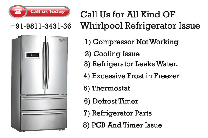 Whirlpool Refrigerator Customer Care in Delhi